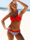 ReyonGO Kırmızı Desenli Bikini Alt