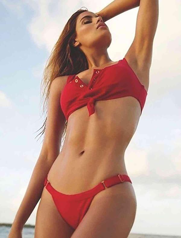 ReyonGO Kırmızı Şık Bikini Takım
