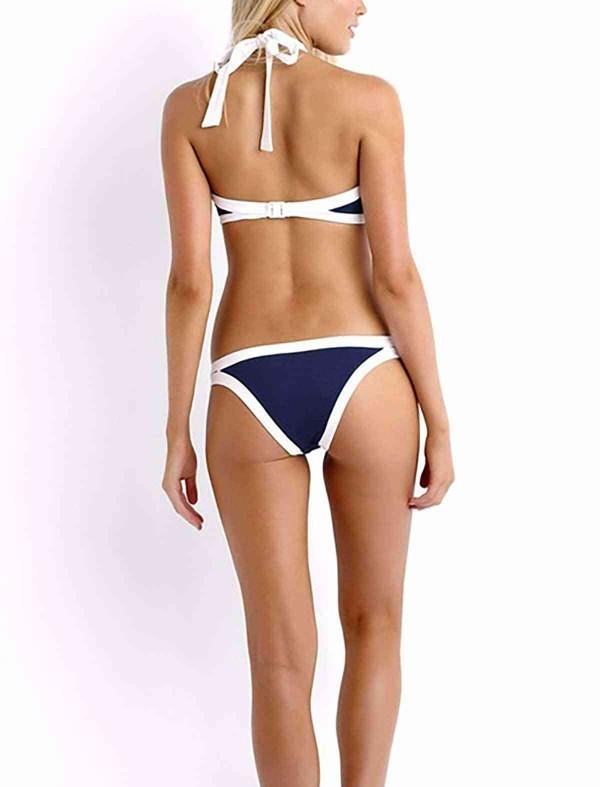 ReyonGO Lacivert Özel Tasarım Tankini Bikini Alt