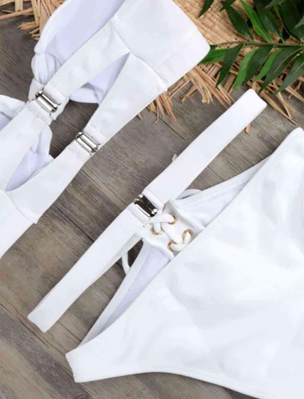 ReyonGO Özel Tasarım Bikini Takım Beyaz