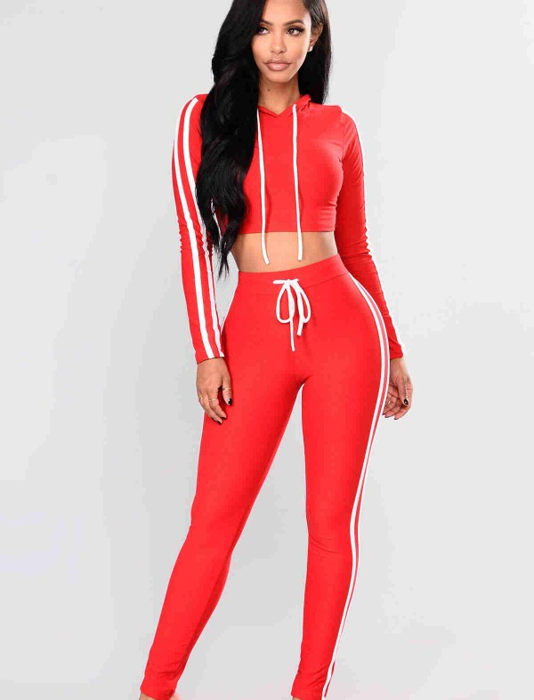 ReyonGO Penye Pijama Üst Kırmızı