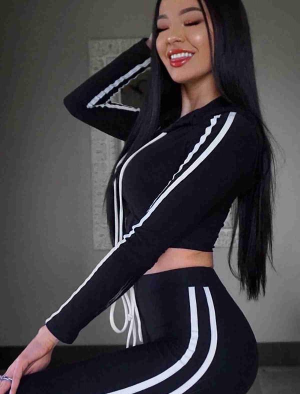ReyonGO Penye Pijama Üst Siyah