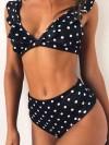 ReyonGO Puantiyeli Bikini Takım Çok Renkli