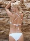 ReyonGO Şık Beyaz Tankini Bikini Alt