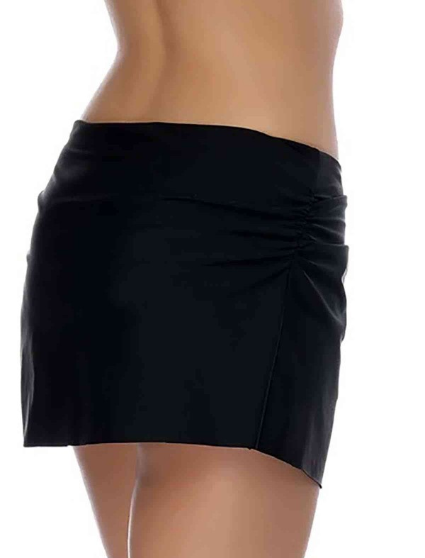 ReyonGO Siyah Etekli Bikini Alt