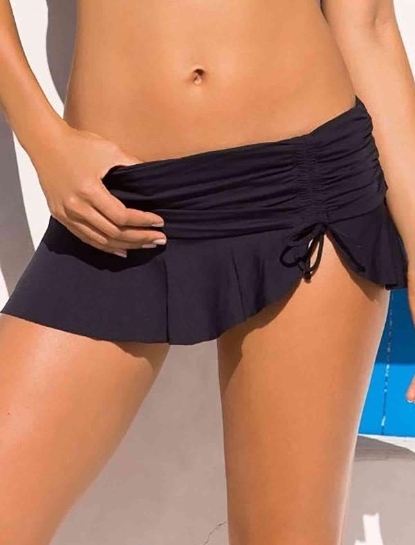 ReyonGO Siyah Etekli Bikini