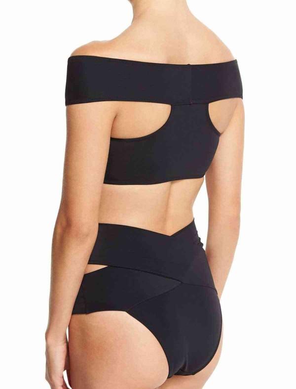 ReyonGO Siyah Özel Tasarım Bikini Üst