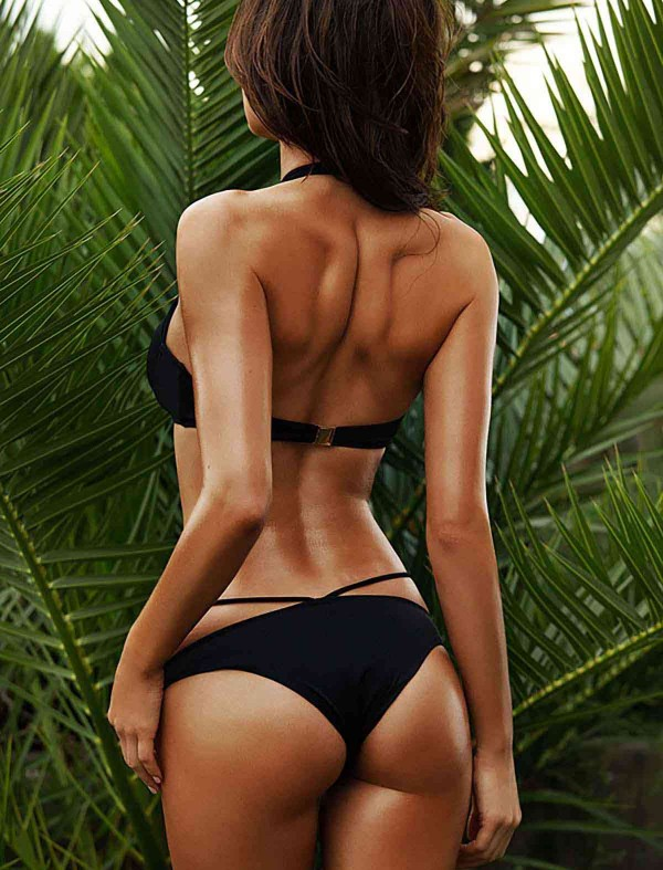 ReyonGO Siyah Süper Tasarım Bikini