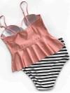 ReyonGO Yüksek Bel Bikini Alt Çok Renkli